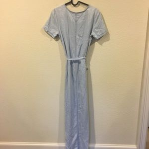 Tommy Hilfiger Dresses - Tommy Hilfiger maxi short sleeve denim dress
